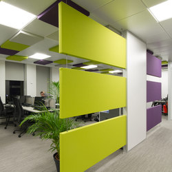 Stereo panels double-sided | Suspended panels | Texaa®