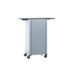 float fx trolley with folding table | Pedestals | Wiesner-Hager