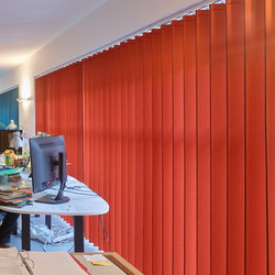 Vibrasto 10 acoustic blinds | Tende a strisce verticali | Texaa®