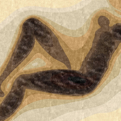 Confluence - Dégradé de bruns | Alfombras / Alfombras de diseño | Chevalier édition