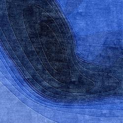 Confluence - Dégradé de bleus | Formatteppiche / Designerteppiche | Chevalier édition