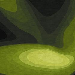 Confluence - Dégradé de verts | Rugs / Designer rugs | Chevalier édition