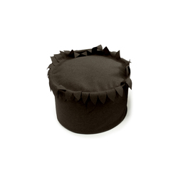 Adamo pouff marrone | Poufs | Poemo Design