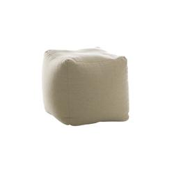 Pouff Cube | Mesillas de noche | Bolzan Letti