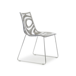 Wave sledge frame | Restaurant chairs | Scab Design