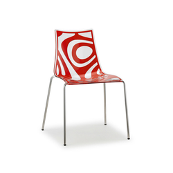 Wave 4-leg frame | Restaurant chairs | Scab Design