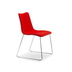 Zebra Pop with sledge frame | Visitors chairs / Side chairs | Scab Design