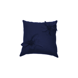 Eva Fiore cushion blu | Cushions | Poemo Design