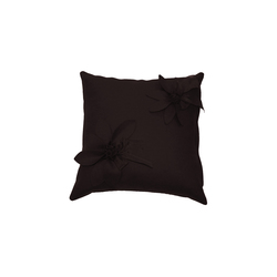 Eva Fiore cushion marrone | Cushions | Poemo Design