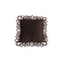 Jackson cushion marrone | Cushions | Poemo Design