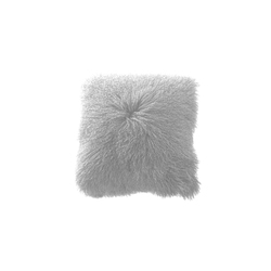 Mongolia cushion bianco | Kissen | Poemo Design