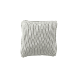 Natural Tricot cushion ghiaccio | Cushions | Poemo Design
