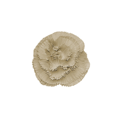 Rosa Plisse' perla | Coussins | Poemo Design