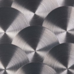 Aluminium | 280 | Peacock Butterfly | Lamiere metallo | Inox Schleiftechnik