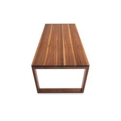 ANDRA Extendable solid wood table | Tables de réunion | Girsberger