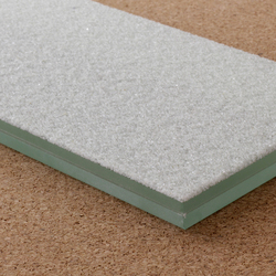 Laminated glass with bonded recycled glass granules | Glas | selected by Materials Council