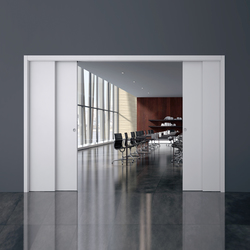 Telescopic Double | Internal doors | Eclisse