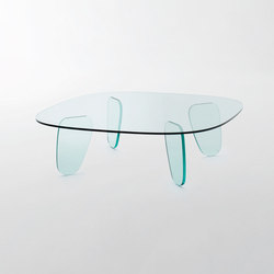 Drawn Table | Couchtische | Glas Italia