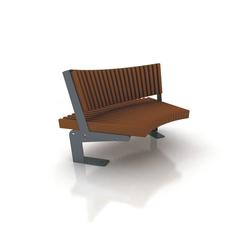 Boa | Exterior benches | Cabanes