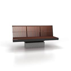 Celesta | Exterior benches | Cabanes