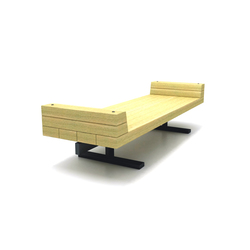 Central Park | Exterior benches | Cabanes