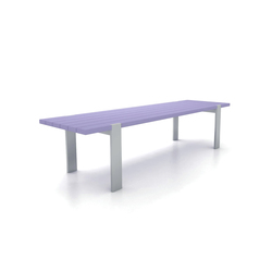 Flat | Waiting area benches | Cabanes