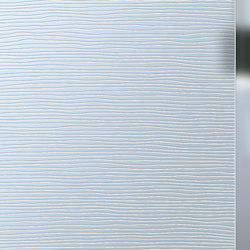 Madras® Textures | Stream | Decorative glass | Vitrealspecchi