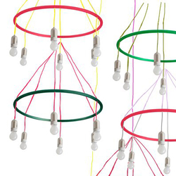 Hula Hoop chandelier | General lighting | Woka