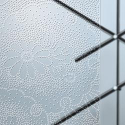 Madras® Kimono Cristalli | Decorative glass | Vitrealspecchi