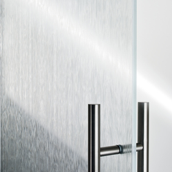 Madras® Wengé Maté double face | Dekoratives Glas | Vitrealspecchi