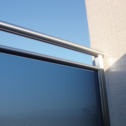 Madras® Pixel blue | Balcony glazing | Vitrealspecchi