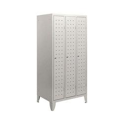 Monoplus Design | 3 doors locker | Casiers / Vestiaires | Dieffebi