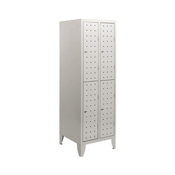 Multiplus Design | 2 Tiers 4 doors locker H1800 | Lockers | Dieffebi