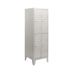 Multiplus Design | 2 Tiers 4 doors locker H1800 | Armadi spogliatoio / Casellari | Dieffebi