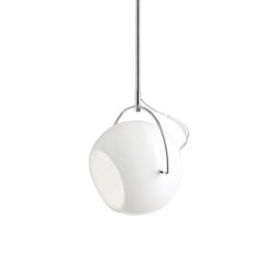 Beluga White D57 A19 01 | Suspended lights | Fabbian