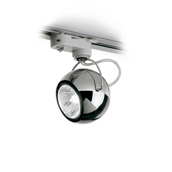 Beluga Steel D57 J03 15 | Low voltage track lighting | Fabbian