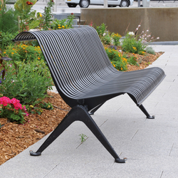Lisbonne Outdoor Bench | Exterior benches | AREA