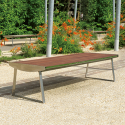 Orlando Outdoor Bench | Bancos | AREA