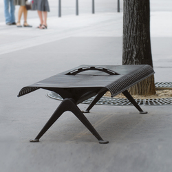 Porto Outdoor Bench | Exterior benches | AREA