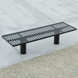 Toronto metal Outdoor Bench | Bancos de exterior | AREA