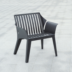 Vancouver metal Outdoor Chair | Exterior benches | AREA