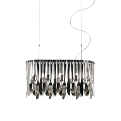 Hungry D76 A01 15 | Suspensions | Fabbian