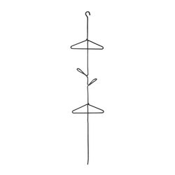 Prêles | Ceiling mounted coat racks | Atelier Pfister