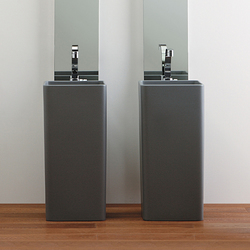 Lava Grey | Vanity units | Ceramica Flaminia