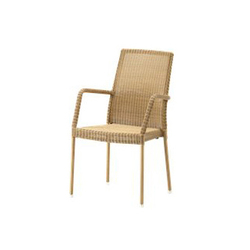 Newman Chair with Armrests | Sillas de jardín | Cane-line
