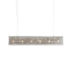 Rhapsody in Blue hanging lamp long | General lighting | Brand van Egmond