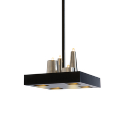 Table d'Amis hanging lamp square | General lighting | Brand van Egmond