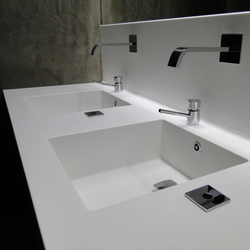 Basin Counter | Wash basins | AMOS DESIGN