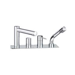 Twinprime pin | Wannenfüllkombination 4-Loch | Badewannenarmaturen | Laufen