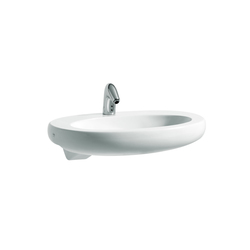 ILBAGNOALESSI One | Semi-recessed washbasin | Wash basins | Laufen